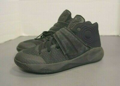 7b1ba2675ead Nike Kyrie 2 Youth Big Kid Black Basketball Shoes Size 6Y ~ 826673-008