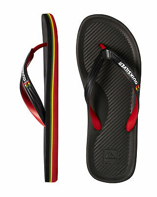 NEW QUIKSILVER™  Mens Haleiwa Thongs Flip Flops Slippers