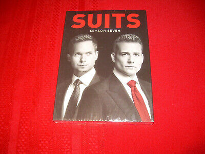 2018 The Complete Seventh Season 7 Seven Sealed New SUITS DVD 4-Disc Set