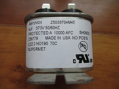 NEW CASE OF 20 AEROVOX Z26S4840M22A3 CAPACITOR
