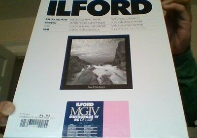 Ilford MGIV Multigrade IV RC DE Luxe 20, 3x 25, 4cm 8 x 10in 90ct.