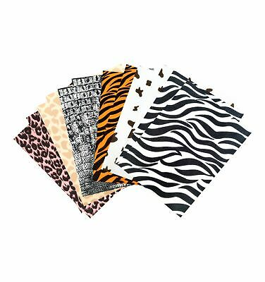 Feutrine 1 mm Polyester 24 x 30 cm Fourrure animale x12 - Sodertex