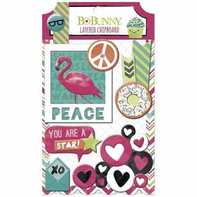 Die Cut Chipboard ForeverYoung - BoBunny
