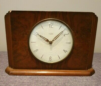 Vintage 1950's Insurance Company Time Savings Clock (Money Operated Mechanism)