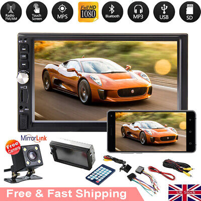 "Android Double 2 Din 7""Car FM MP5 MP3 Player Touch Screen Stereo Radio Bluetooth"
