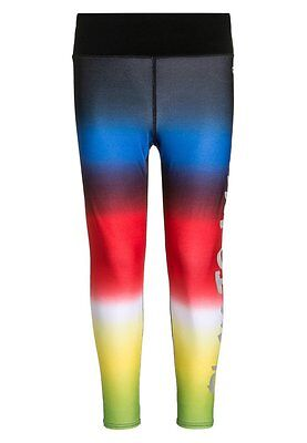 Gap Fit kids dip dye leggings, Multi-Color/True Black SZ XL (12)   #198207 N0828