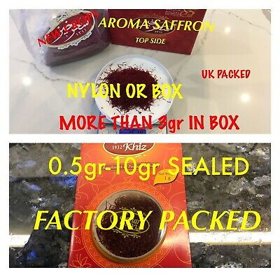 SAFRON SPICE 0.5gr TO 10gr %100 PURE SARGOL GUARANTE, PAY LESS BUY THE BEST