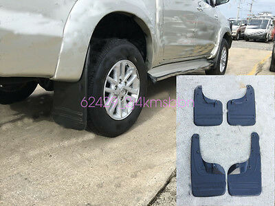 Mud Flaps Mud Guard Splash Guards Mudguard WITH Flares For Toyota Hilux 05-11 4x