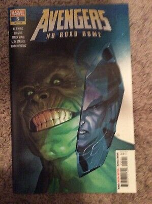 Avengers No Road Home #5 1st Print 2019 Conan in Marvel universe