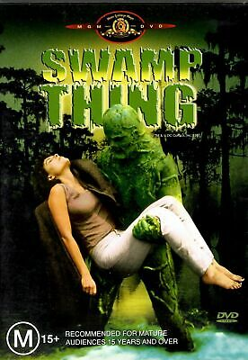 Wes Craven's Swamp Thing Dvd=Louis Jordan=Region 4 Aust Release=New And Sealed