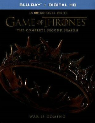 Game of Thrones: Complete Second Season 2 (Blu-ray + Digital HD)  NEW SEALED