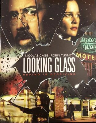 Looking Glass (Blu-ray Disc + SlipCover, 2018) NEW FREE SHIPPING NICOLAS CAGE