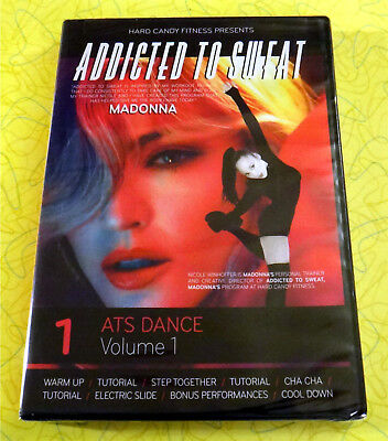 Addicted to Sweat: ATS Dance Vol 1 ~ New DVD Video ~ Madonna Hard Candy Fitness