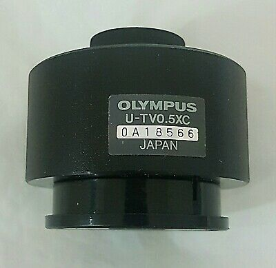 Olympus Microscope CCD Interface U-TV0.5XC- C-Mount