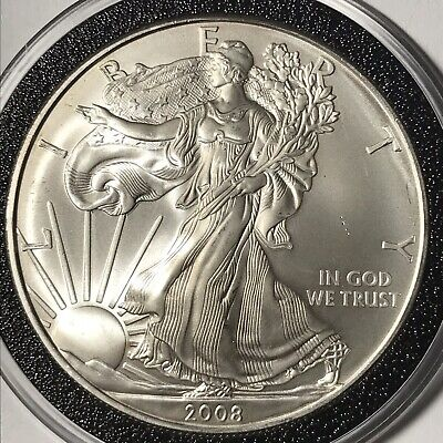 2008 $1 American Silver Eagle 1 oz Uncirculated
