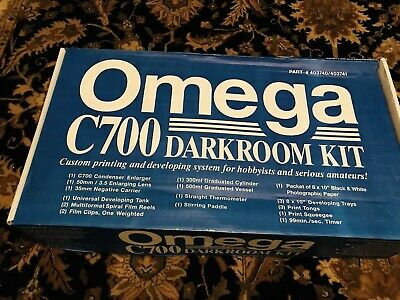 VERY NICE OMEGA C700 Lamphouse Film Enlarger With GrabLab Darkroom