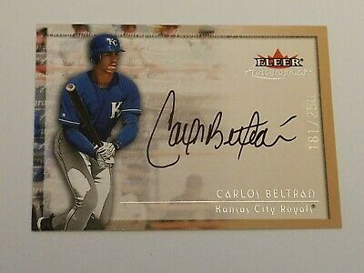 Carlos Beltran Auto Autographed 8x10 Photo Signed Picture W