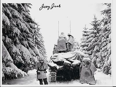 Jerry Jacobs 3Rd Armored Division Battle Of The Bulge Veteran Rare Signed Photo