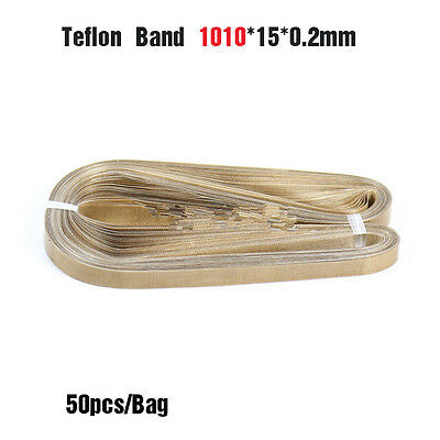 1010*15*0.2mm continous Band sealer teflon belt 50pcs/bag,seamless T