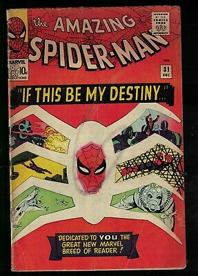 Marvel comics 1st appearance Gwen Stacy Harry Osborne 31 Spiderman amazing 4.0