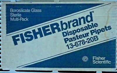 Fisherbrand™ Disposable Borosilicate Glass Pasteur Pipets 5 3/4""