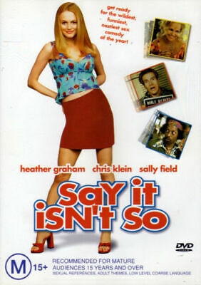 Say It Isn't So Dvd=Heather Graham=Region 4 Australian Release=New And Sealed
