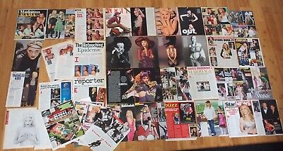 Vintage Huge MADONNA Magazine Clippings Lot #2 over 43+ Pages FULL PAGES