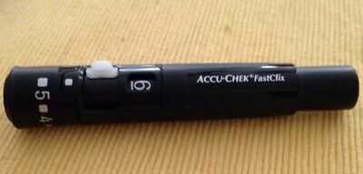 NEW Accu-Chek FastClix Lancing Device with 48 Lancets
