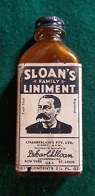 SLOANS FAMILY LINIMENT 2 1/2 oz bottle
