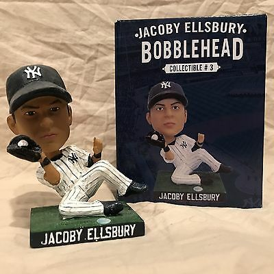 Jacoby Ellsbury SGA 2015 NY Yankees Collectible Bobblehead Statue Figurine 8/24