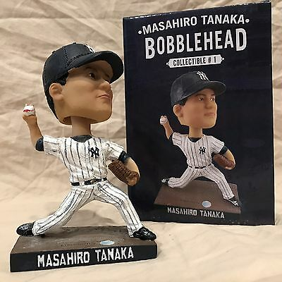 Masahiro Tanaka SGA 2015 New York Yankees Japan Bobblehead Statue Figurine MINT