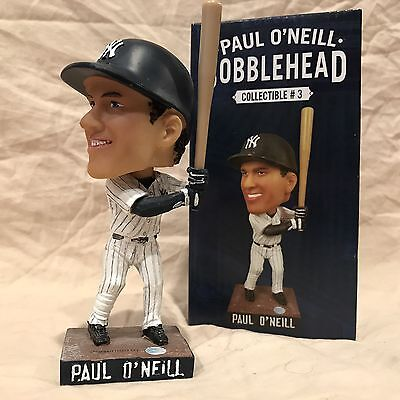 Paul O'Neill 2014 New York Yankees Bobblehead Statue Figurine SGA vs Jays BNIB