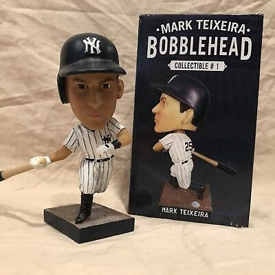 Mark Teixeira 2014 New York Yankees Bobblehead Statue Figurine SGA vs Jays BNIB