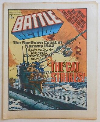 BATTLE - ACTION Comic - 17th February 1979