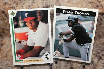 Frank Thomas Rookie 1991 Upper Deck 246 Bird Flipping