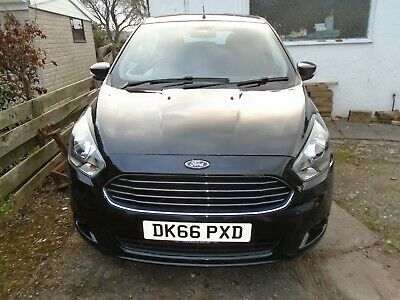 2016 Ford Ka + Zetec 66 Reg Plus 1.2 Accident Damaged Repairable Salvage Offers