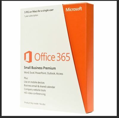 Microsoft Office 365 - 1 User / 5 Devices - 1 Year Subscription