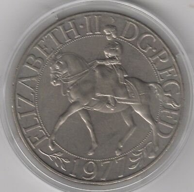 1977 Elizabeth II Crown Coin In Capsule | British Coins | Pennies2Pounds