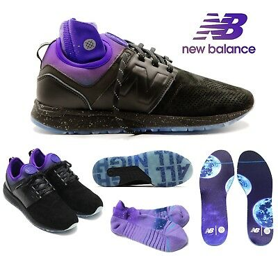 f9c4e6e5bb993 New Balance X Stance 247 Men's Shoes All Night Black Socks MRL247ST $150  Limited