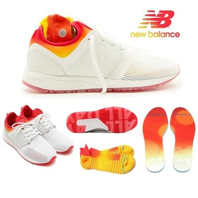 6f371b691dbb7 New Balance X Stance 247 Men's Shoes All Day White Socks MRL247CO $150  Limited