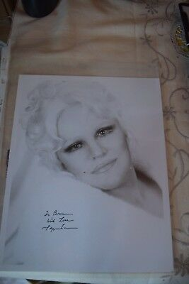 Peggy Lee  Beautiful Hand Signed & Inscribed Photograph