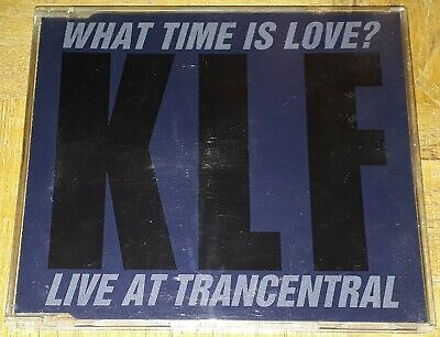 """The Klf """"What Time Is Love?"""" Live At Trancentral 3"""" Maxi-Cd"""