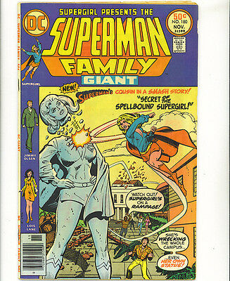 The Superman Family #180 fn 1976 52 pages Supergirl DC Comics US comics