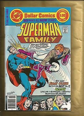 The Superman Family #185 VFN 1977 80 pages Supergirl Dollar comic DC Comics