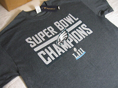 Nice PHILADELPHIA EAGLES CARSON Wentz Super Bowl Lii Champs T Shirt Size  for sale