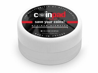 Coinpad Standard XL Size Box - Protect Your Coins in the Field - Metal Detecting