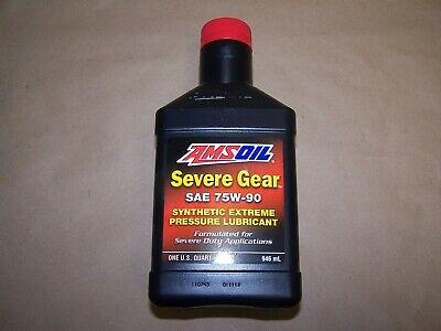 Amsoil Severe Gear 75w 90 Amazon Com >> 75w90 Severe Gear From Amsoil