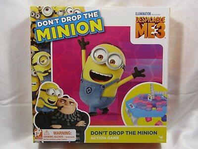Don't Drop the Minion Action Game Despicable Me 3 Family Boardgame GIFT SPRING