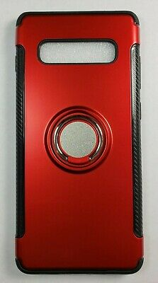 Samsung Galaxy S10/S9/S8/Plus/Note 9 8 Ring Holder Shockproof Armor Case Cover