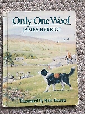 Only One Woof by James Herriot (1985, Hardcover, Revised)